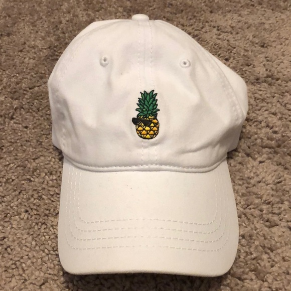 d28f4b94042 American Eagle Outfitters Accessories - American Eagle Pineapple Baseball  Hat